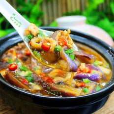 开胃下饭菜,肉末茄子煲