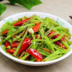 虾皮炒空心菜