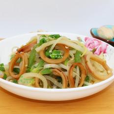 鱿鱼炒萝卜丝