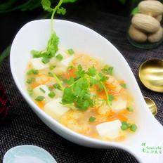 豆腐虾仁汤