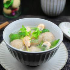 鲜虾香菇莲藕丸子