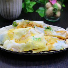广式鸡蛋肠粉