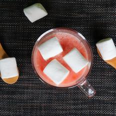 冰爽酸甜,棉花糖西红柿汁