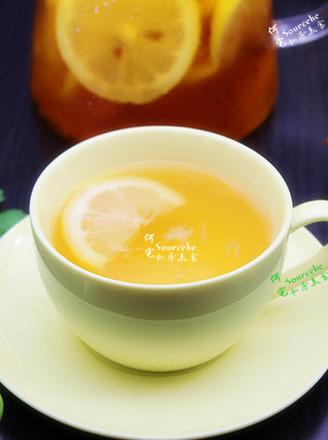 清香柠檬蜂蜜茶的做法