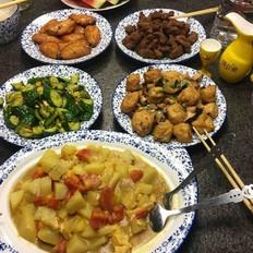 空气炸锅烤羊肉/鸡翅