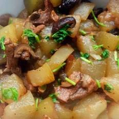 冬瓜香菇炖肉