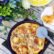 蘑菇培根披萨(8寸)