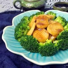 杏鲍菇扒西兰花