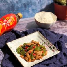 尖椒炒肉片