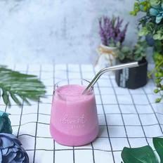 双色紫薯酸奶