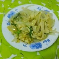 洋葱炒干豆腐
