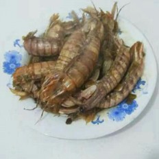 黄豆酱炒虾爬子