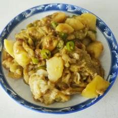 黄豆酱拌茄子土豆