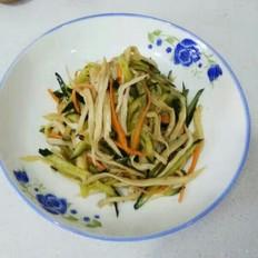 杏鲍菇拌黄瓜