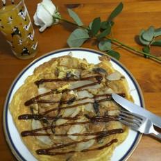 简单早餐 - 土豆鸡蛋饼