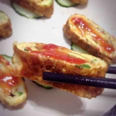 宝宝餐韩式鸡蛋卷