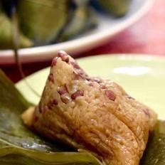 赤豆蜜枣粽