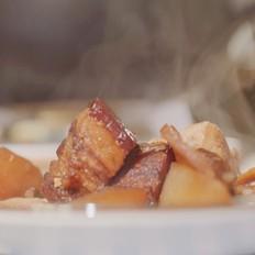 【熬肉】红烧肉最独特的做法。