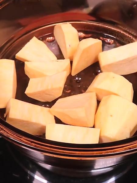 奶酪焗红薯的做法图解