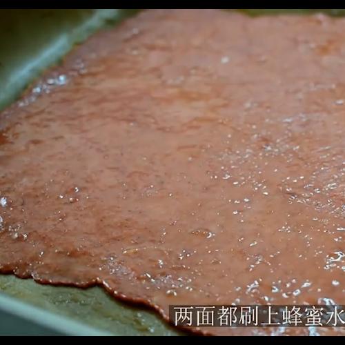 自制猪肉脯。怎么吃