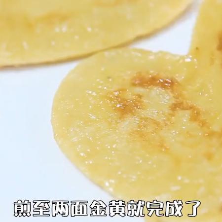 香蕉松饼怎么吃