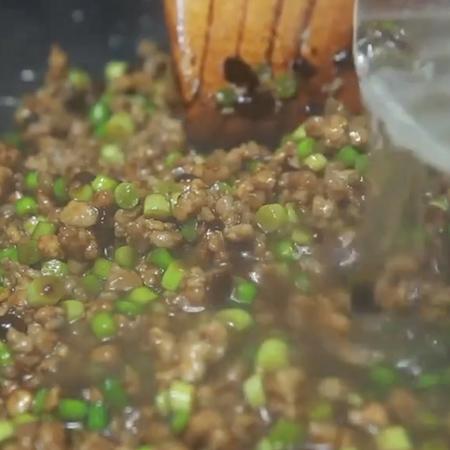 蒜苔肉酱面怎么吃