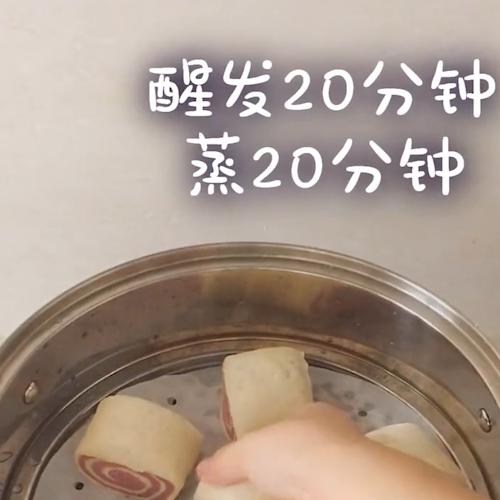 紫薯双色馒头怎么煮