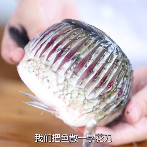 凉拌鲫鱼的做法图解