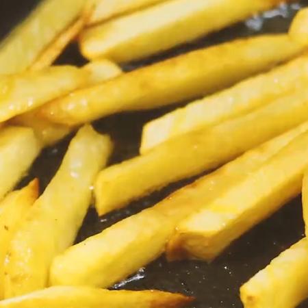 香辣土豆条怎么吃