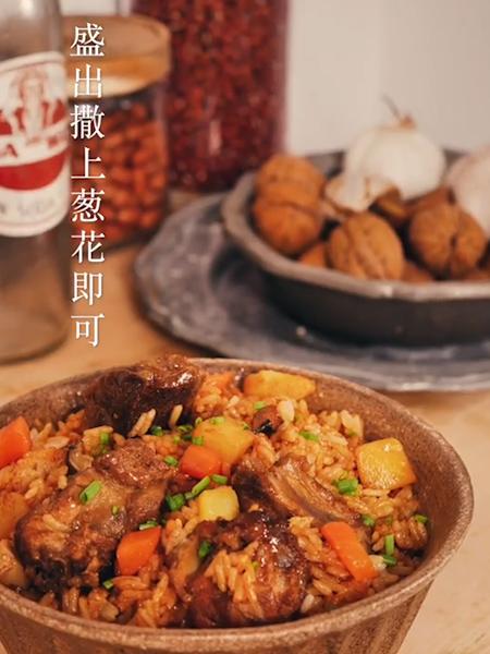 排骨焖饭怎样做
