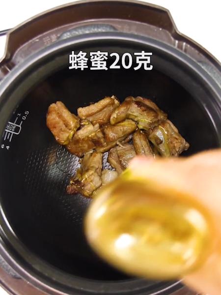 电饭锅蜜汁排骨的简单做法