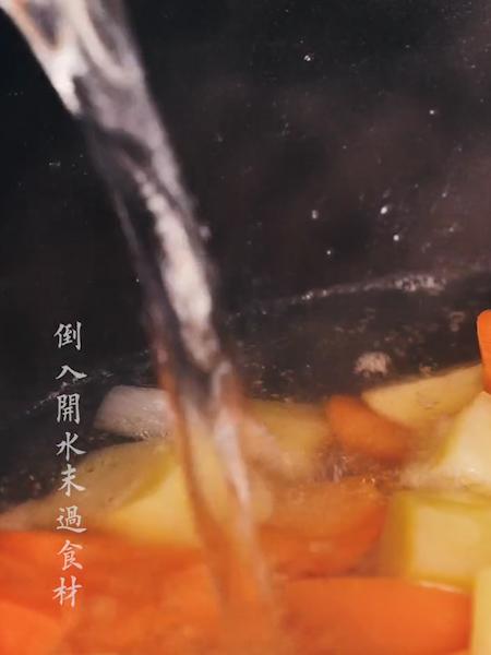 咖喱猪排饭的简单做法