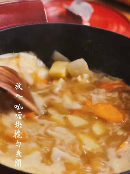 咖喱猪排饭怎么吃