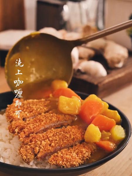 咖喱猪排饭怎样炒