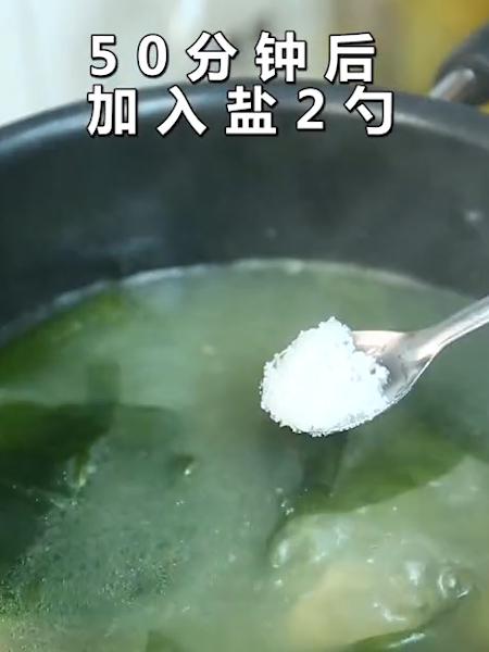 海带排骨汤的家常做法