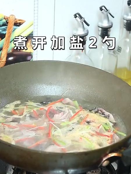 酸辣肚丝汤的家常做法