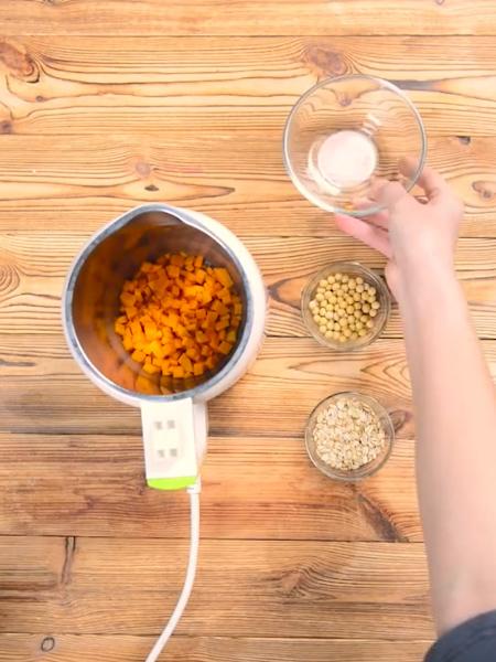 南瓜燕麦豆浆的做法大全