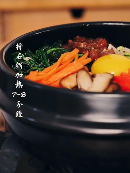 石锅拌饭怎么煸