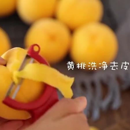 黄桃罐头+果冻的做法大全