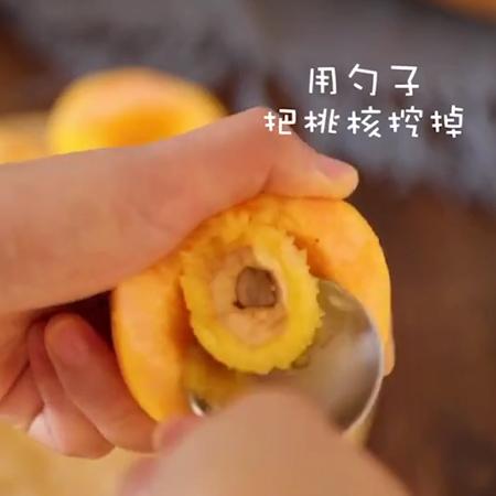 黄桃罐头+果冻的做法图解