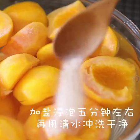黄桃罐头+果冻的家常做法