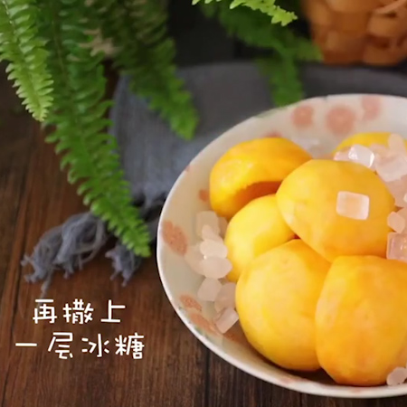 黄桃罐头+果冻怎么做