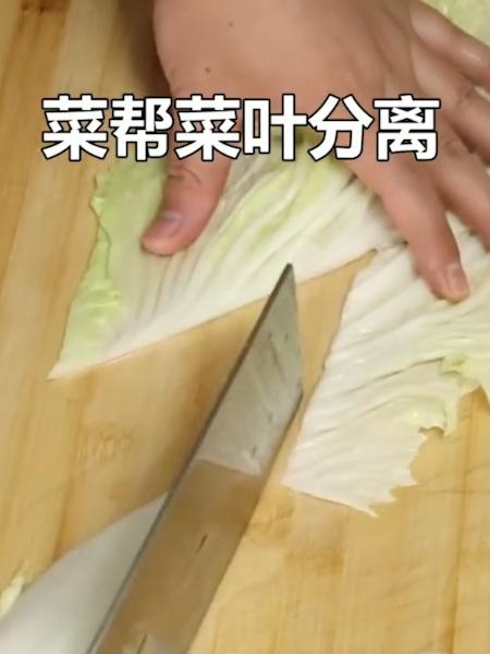 酸辣白菜的做法大全