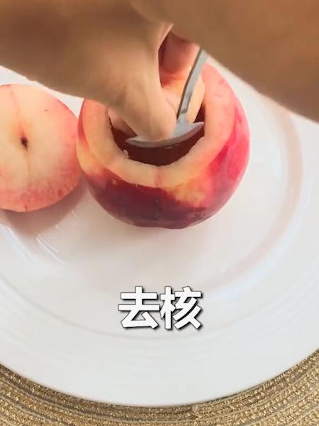 网红桃子冰淇淋的做法图解