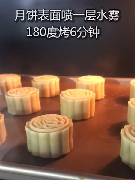 广式白莲蓉月饼怎么煸