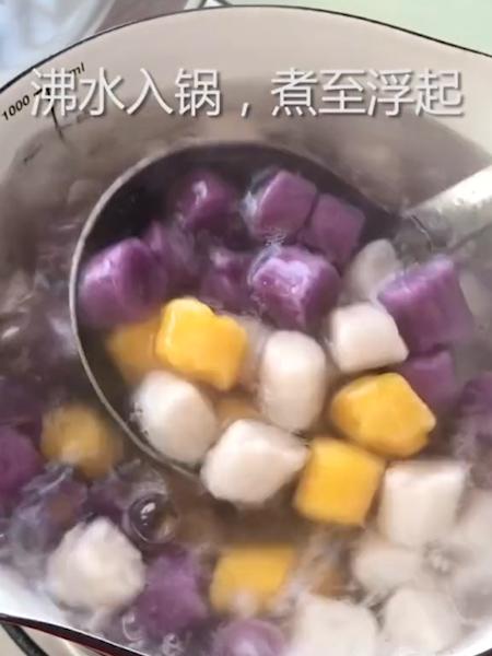 手工彩色芋圆怎么炖
