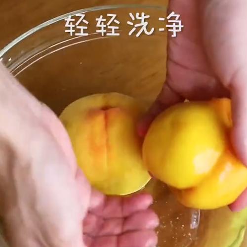 脏脏黄桃的做法大全