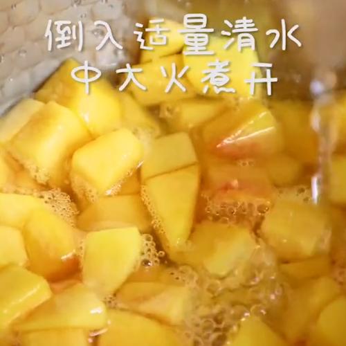脏脏黄桃的简单做法