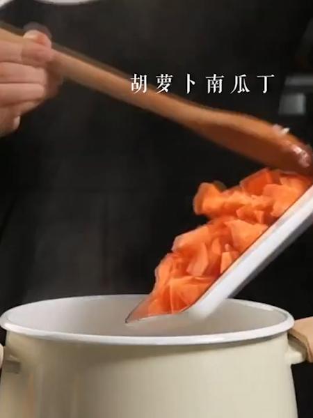 奶油南瓜粥的家常做法