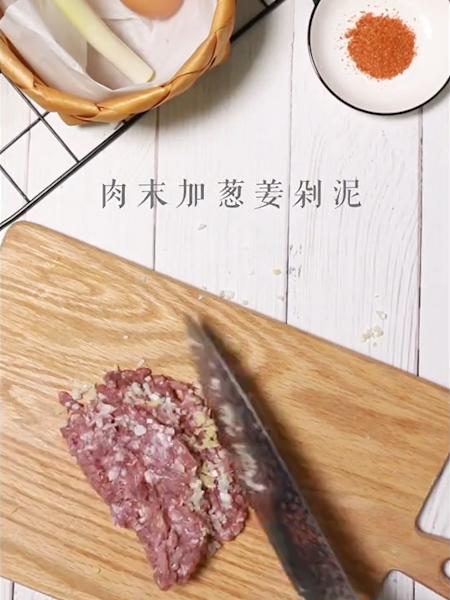 肉糜豆皮卷的做法图解